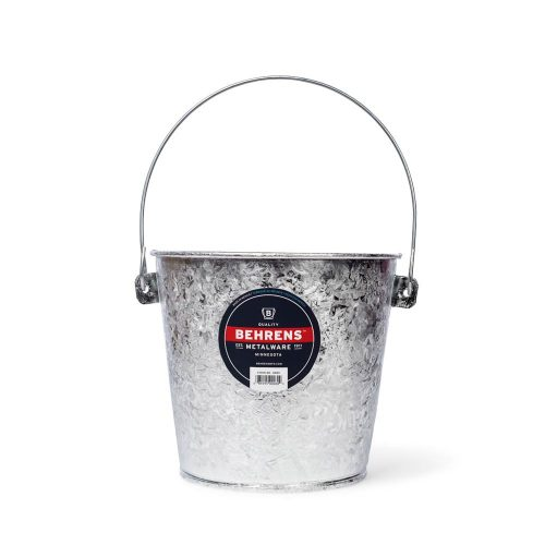 15 Quart Hot Dipped Steel Stable Pail Main
