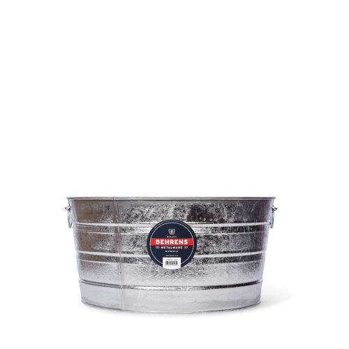 14 Gallon Round Hot Dipped Steel Tub Main