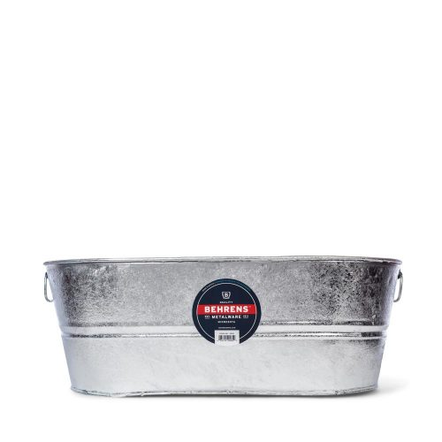 Hot Dipped Galvanized Steel Oval Tub
