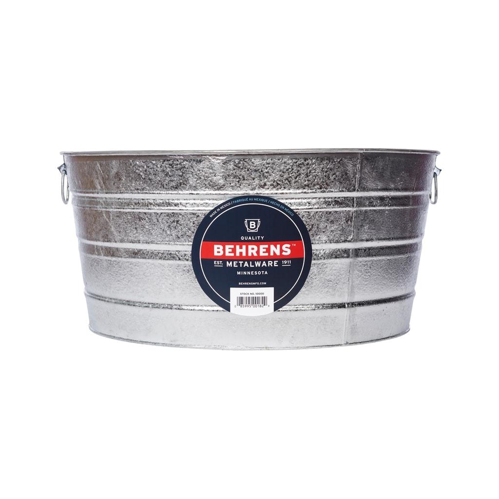 Behrens 17 Gal Round Tub