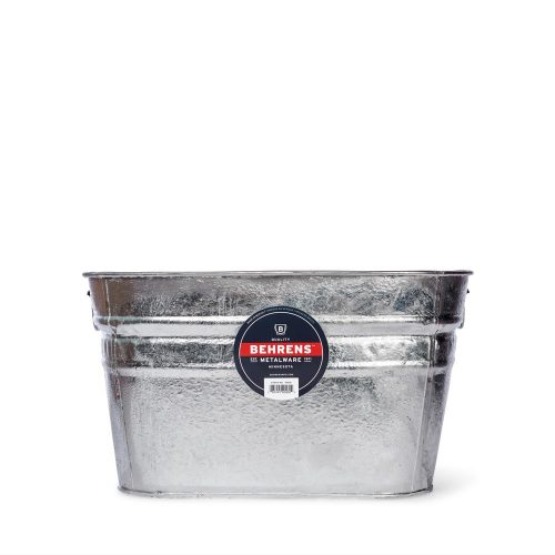 Hot Dipped Galvanized Steel Square Tub