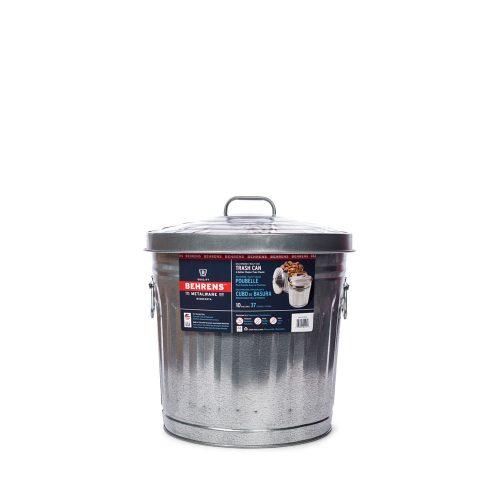10 Gallon Galvanized Steel Trash Can