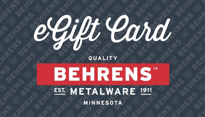 Behrens eGift Card