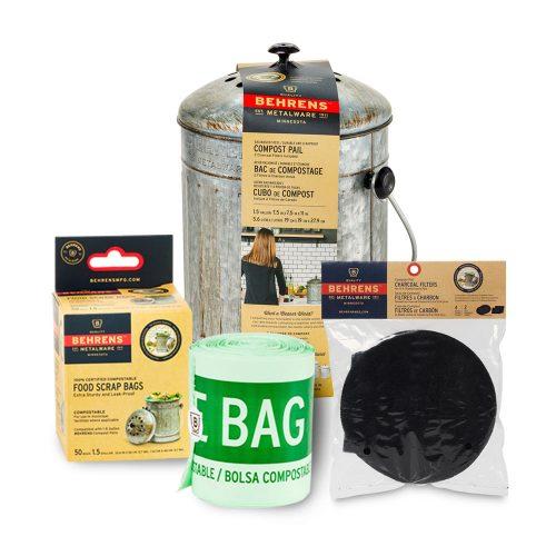 Indoor Composting Bundle Pack