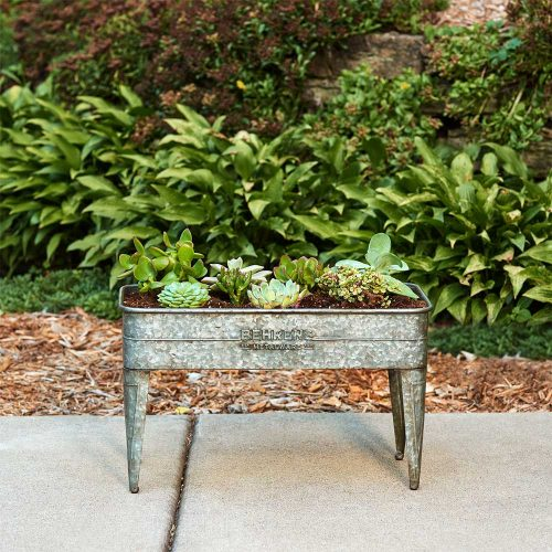 M19GP2 Rustic Planter with Legs