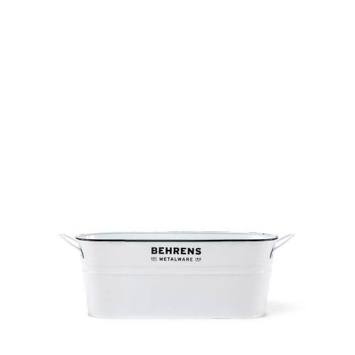 1-3/4 Gallon White Galvanized Tub