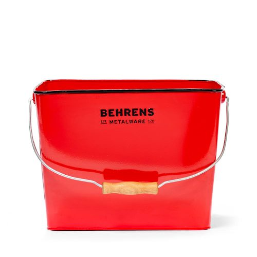 W19RBR Rectangular Bucket Red 3 and Quarter Gallon