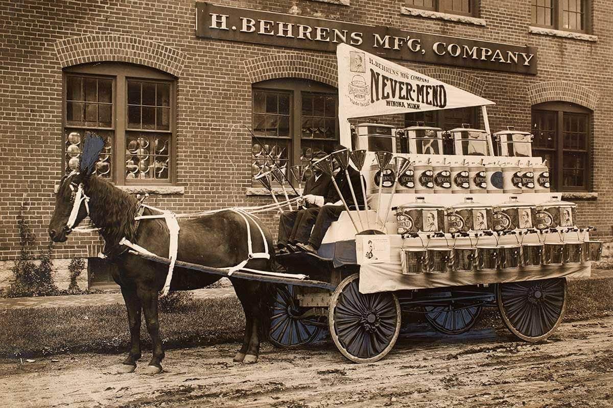 Vintage sales cart by Behrens