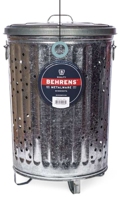 20 gallon composting can by Behrens